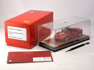 画像1: MR COLLECTION Ferrari California 150 Anniversario Unita d'italia Rosso corsa Italian Stripe