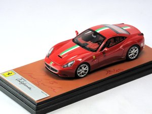 画像2: MR COLLECTION Ferrari California 150 Anniversario Unita d'italia Rosso corsa Italian Stripe