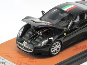 画像4: MR COLLECTION Ferrari California 151 Anniversario Unita d'italia Nero Italian Stripe