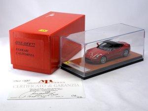 画像1: MR COLLECTION One Off 77 Ferrari California Rosso Corsa Black Roof